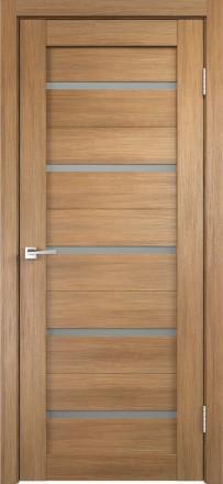 Фото Дверное полотно Duplex Дуб золотой Мателюкс